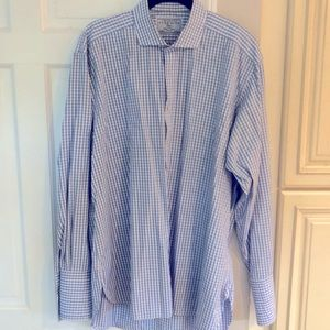 Charles TyrWhitt mens French cuff dress shirt